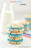 trikolórové cookies