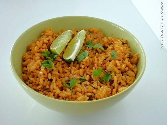 { nejlepší } mexická rýže