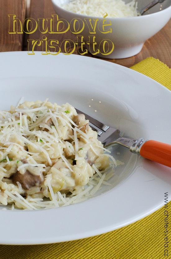 houbové risotto