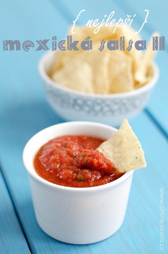 { nejlepší } mexická salsa II