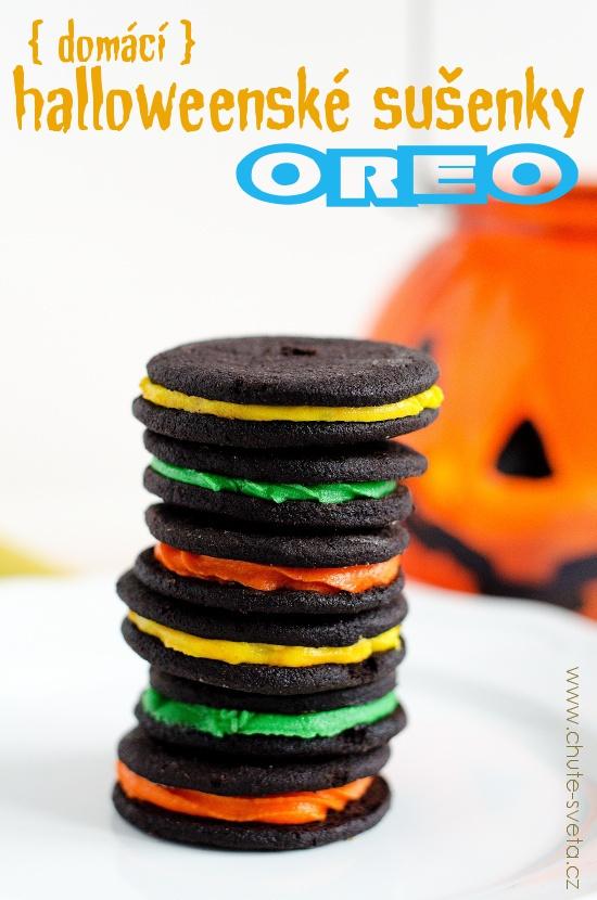 { domácí } sušenky OREO