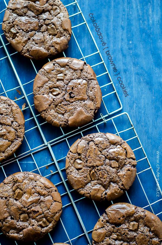 čokoládové brownie cookies { předsevzetí 2014: každý měsíc cookies }