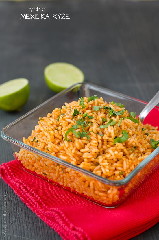 rychlá mexická rýže