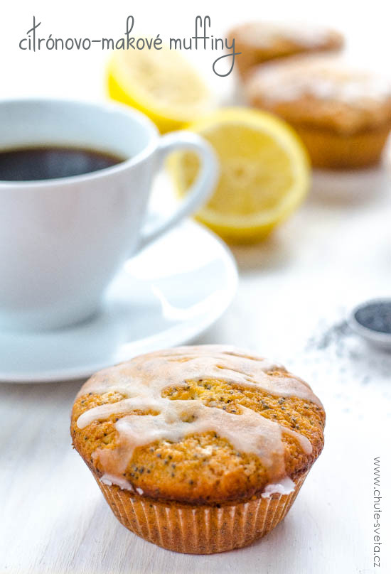citrónovo-makové muffiny