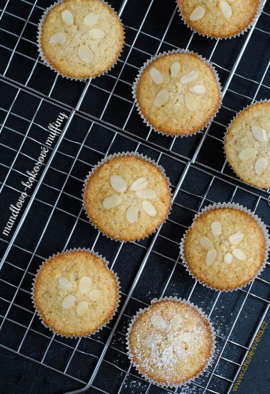 mandlovo-kokosové muffiny