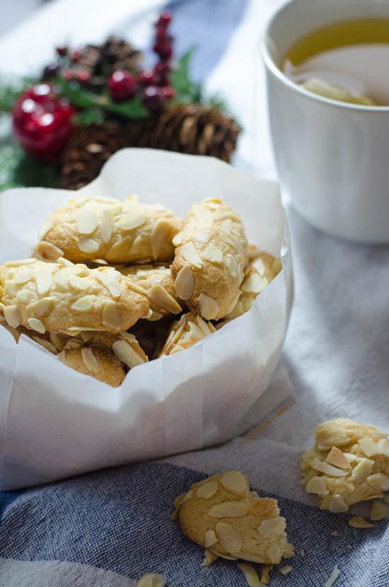 vánoční cukroví 2014: mandlové válečky