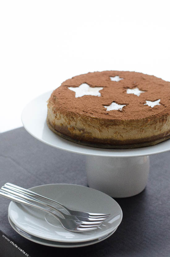 { vánoční } tiramisu cheesecake