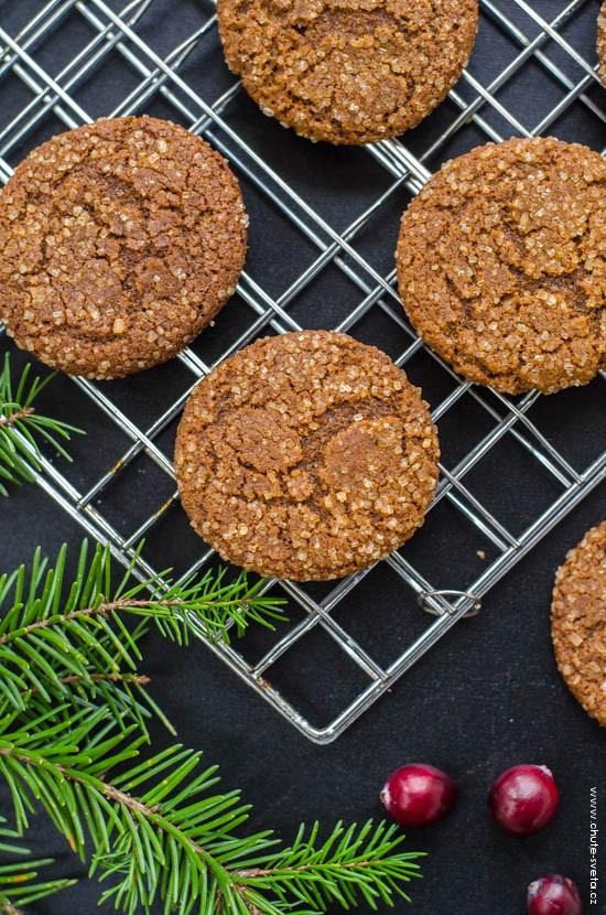 melasové sušenky