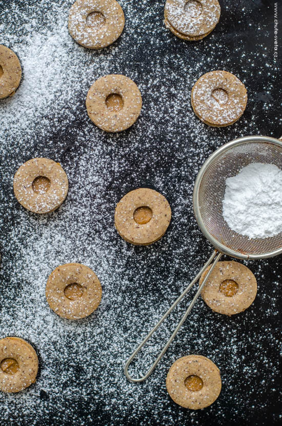 vánoční cukroví 2015: kořeněné linecké
