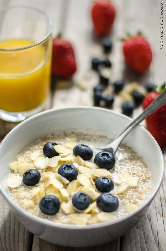 snídaňová quinoa
