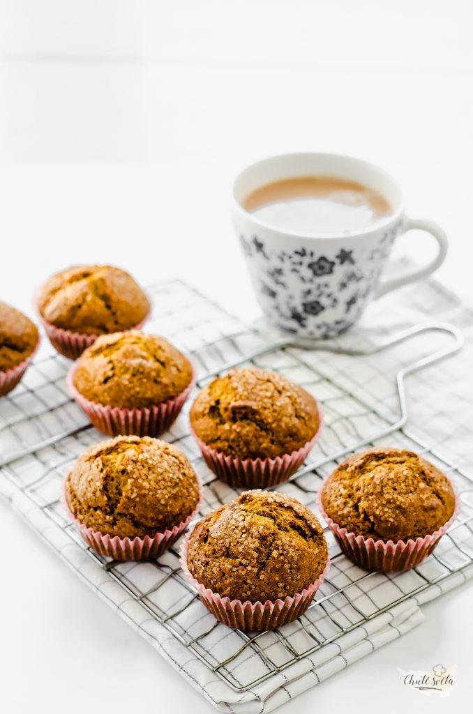 jednoduché dýňové muffiny